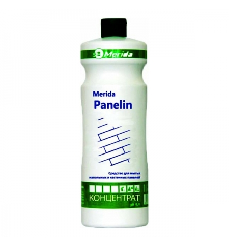 фото: Моющий концентрат Merida Panelin 1л, для полов и настенных панелей, придающее блеск, NMP103