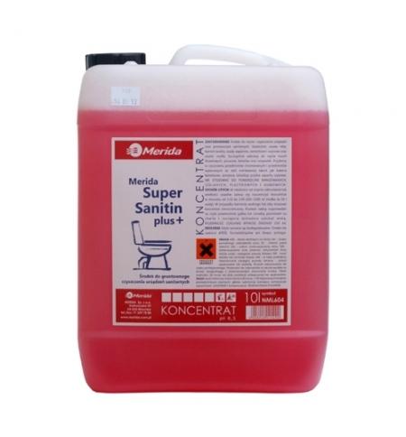 фото: Моющий концентрат Merida Super Sanitin 10л, для санитарных зон, NML604
