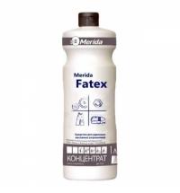 Моющий концентрат для кухни Merida Fatex 1л, для удаления жирных загрязнений, NMS108