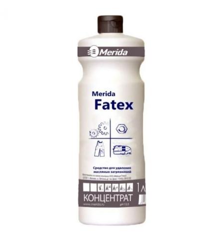 фото: Моющий концентрат для кухни Merida Fatex 1л, для удаления жирных загрязнений, NMS108