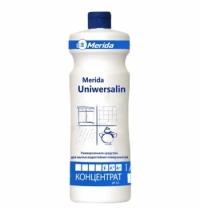 Универсальный моющий концентрат Merida Uniwersalin 1л, для любых поверхностей, NMU102