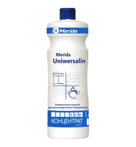 фото: Универсальный моющий концентрат Merida Uniwersalin 1л, для любых поверхностей, NMU102