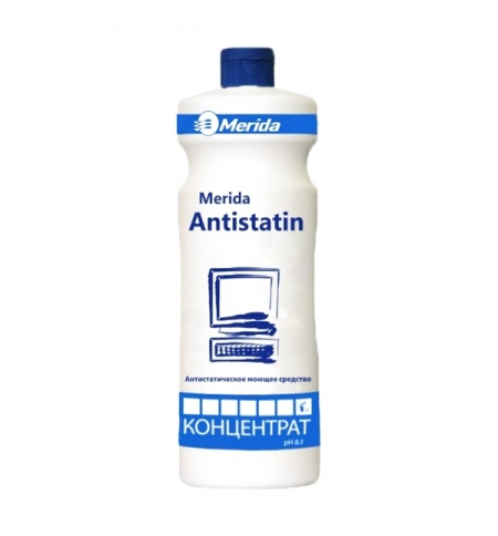 фото: Универсальный моющий концентрат-антистатик Merida Antistatin 1л, NMU104