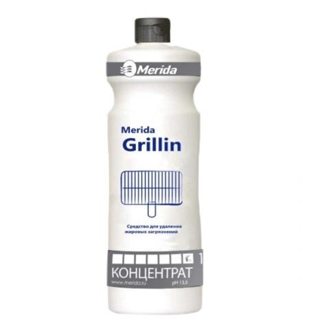 фото: Чистящий концентрат для кухни Merida Grillin 1л, для удаления жировых загрязнений, NMS109