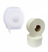 Диспенсер для туалетной бумаги в рулонах Merida туалтенаая бумага, ТБT202, 2шт, KH_BHB101_ТБT202