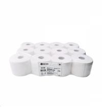 Туалетная бумага ТБТ706, 2 слоя, белая, 100м, 12шт/уп
