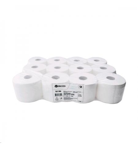 фото: Туалетная бумага ТБТ706, 2 слоя, белая, 100м, 12шт/уп