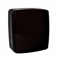 Диспенсер для полотенец листовых Merida Harmony Black AHC101, черный, V-укладка
