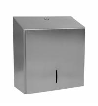 Диспенсер для полотенец листовых Merida Популярный Maxi AQP101, металлический