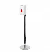 Диспенсер для влажных салфеток Merida белый, сенсорный, на мобильной стойке Премиум