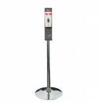 Диспенсер для дезинфицирующего средства Merida 500мл, гель, сенсорный, на мобильной стойке Классик