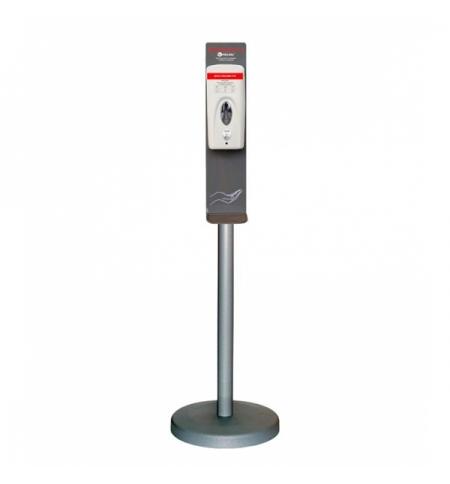 фото: Диспенсер для дезинфицирующего средства Merida 500мл, пена, сенсорный, на мобильной стойке Классик,
