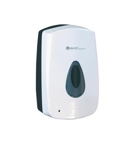 фото: Дозатор для мыльной пены Merida Automatic Top DPB501, белый, сенсорный