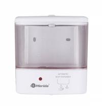 Дозатор для санитарных зон Merida Популярный Д116, белый, 1л, сенсорный, наливной