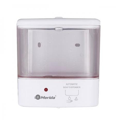 фото: Дозатор для санитарных зон Merida Популярный Д116, белый, 1л, сенсорный, наливной