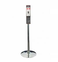 Спрей-дозатор для дезинфицирующего средства Merida 800мл, сенсорный, на мобильной стойке Классик, K_