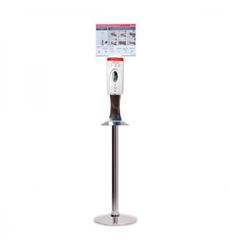 фото: Спрей-дозатор для дезинфицирующего средства Merida Harmony 800мл, сенсорный, на мобильной стойке Пре