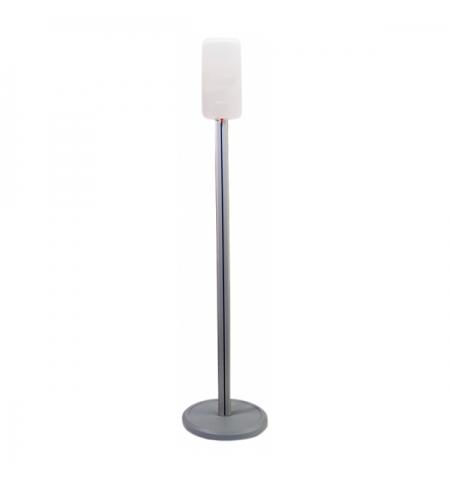 фото: Спрей-дозатор для дезинфицирующего средства Merida Harmony белый, сенсорный, на мобильной стойке Эко