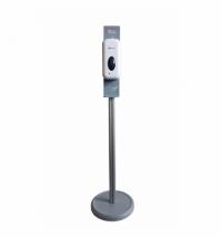 Диспенсер для дезинфицирующего средства Merida Популярный спрей, сенсорный, на мобильной стойке Экон