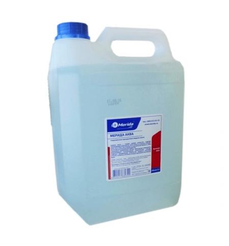 фото: Жидкое мыло наливное Merida Аква 5л, сверхмягкое прозрачное, М3А